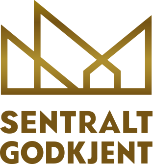 Logo som viser sentral godkjenning for SmartCon AS
